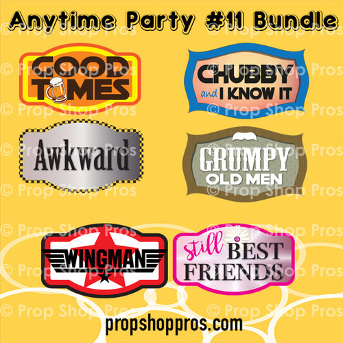 Prop Shop Pros Anytime Party Photo Booth Props 11