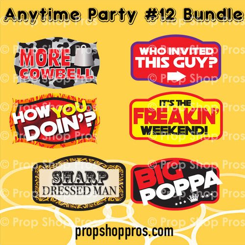 Prop Shop Pros Anytime Party Photo Booth Props 12