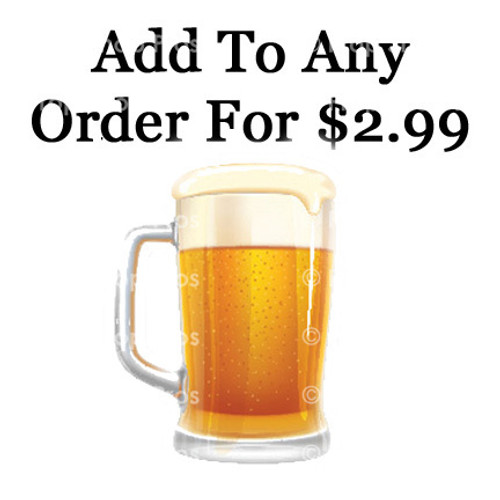 Beer Mug 6MM PVC Prop Sign