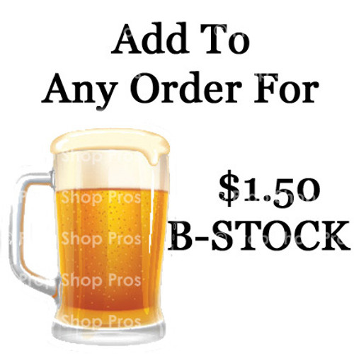 Beer Mug | B-STOCK | 6MM PVC Prop Sign