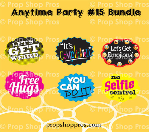 Prop Shop Pros Anytime Party Photo Booth Props 15