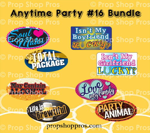 Prop Shop Pros Anytime Party 16 Photo Booth Props