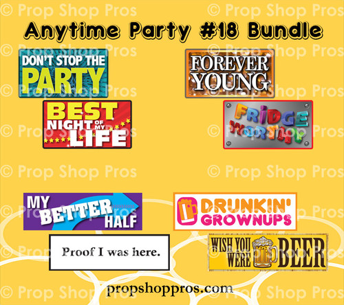 Prop Shop Pros Anytime Party Photo Booth Props 18