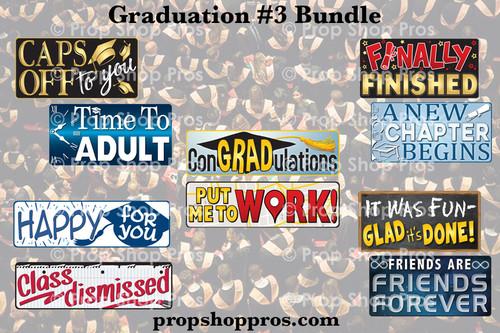 Prop Shop Pros Graduation 3 Photo Booth Props