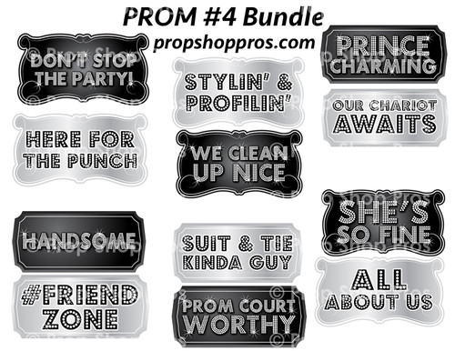 Prop Shop Pros Prom Photo Booth Props 4