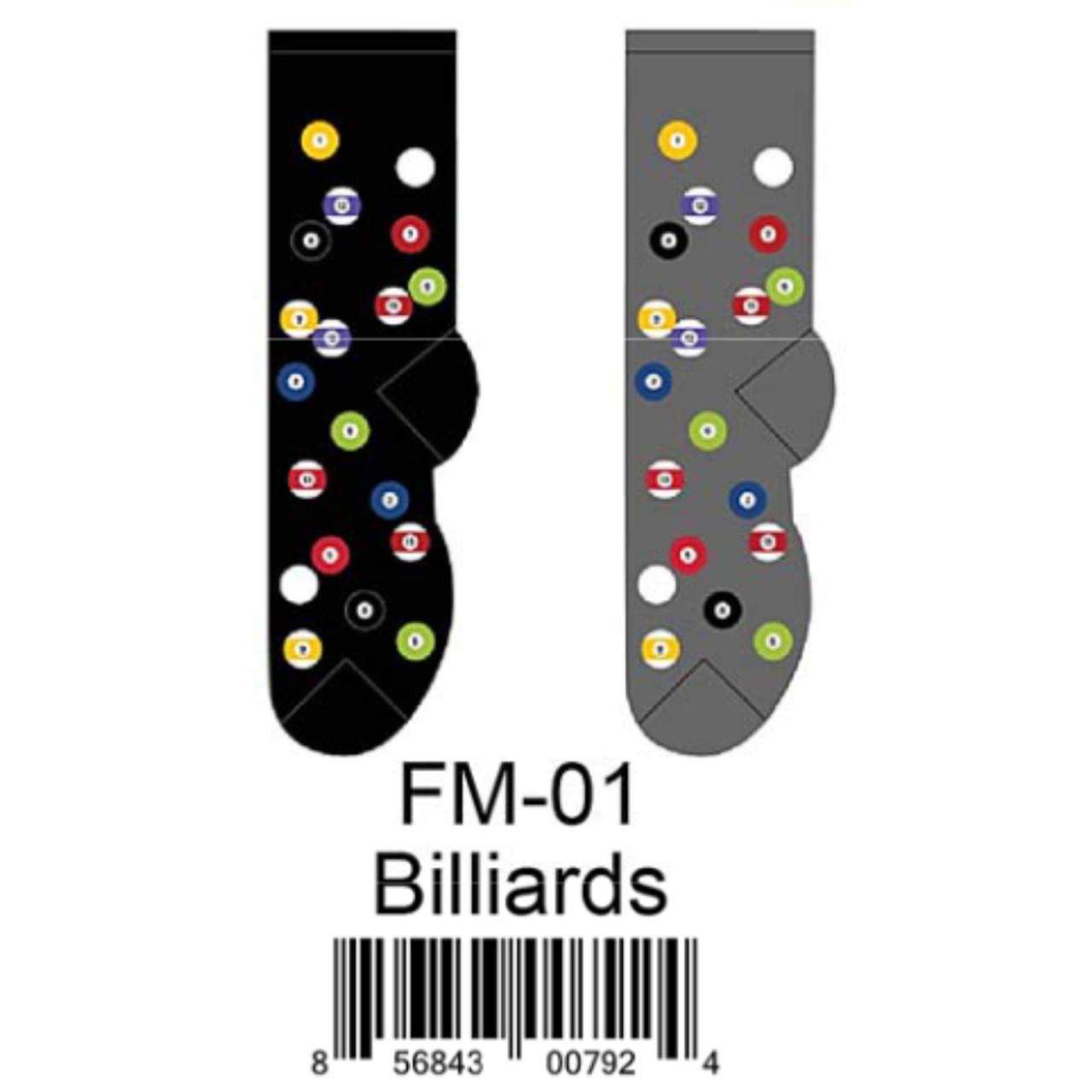 Men/'s Billiards Socks