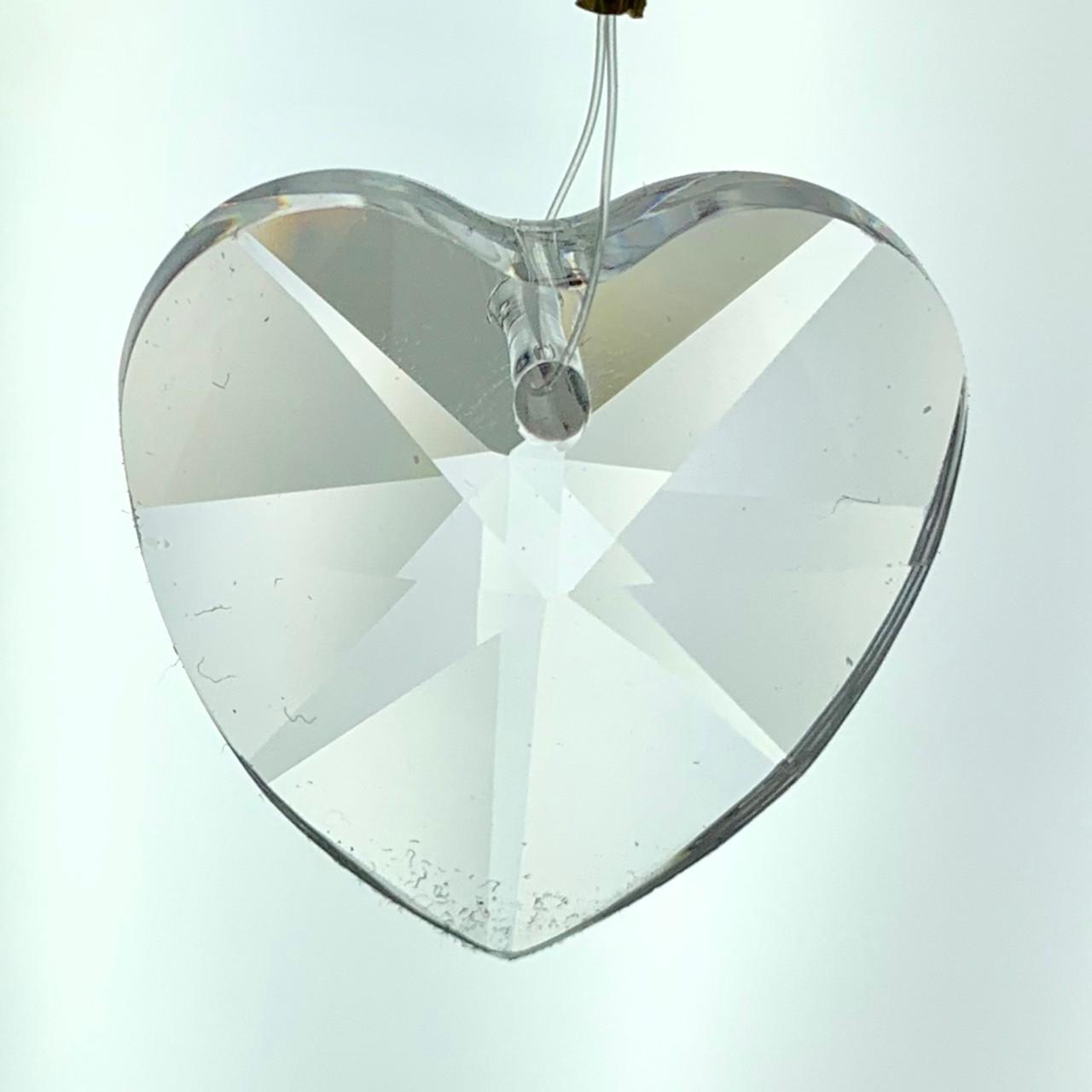 Cr92105 Heart Leaded Crystal