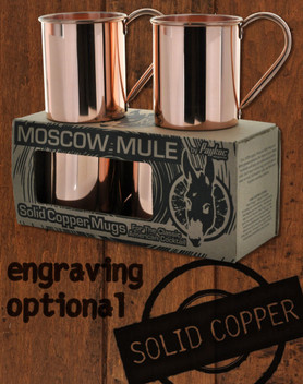 Moscow Mule Copper Mugs The Real Copper Deal Copper