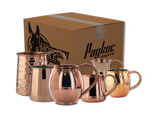 25 Pack Mule Copper Mugs