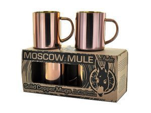 4 Pack of Mule Copper Mugs