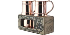 4 Pack of Copper Mugs