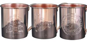 Custom Engraved Copper Mugs