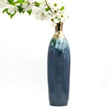 Patina Hyacinthine Rounded Bottle Vase