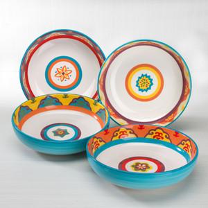 Galicia 4 Piece Pasta Bowl Set