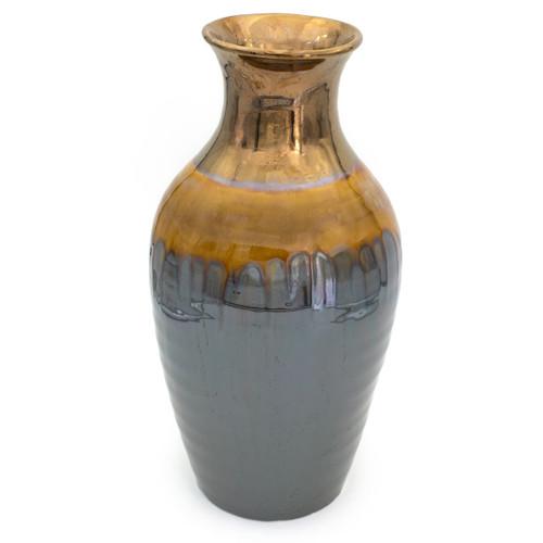 Patina Sienna Flared Shoulder Vase
