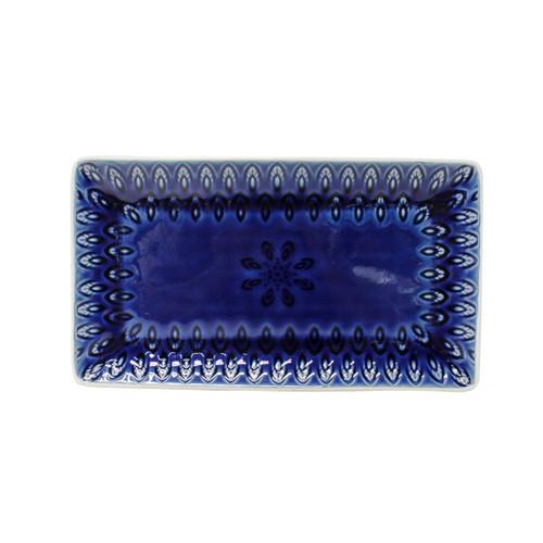 Peacock Rectangular Platter