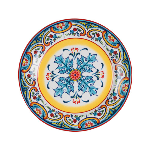Zanzibar Stoneware Salad Plates, Set of 4