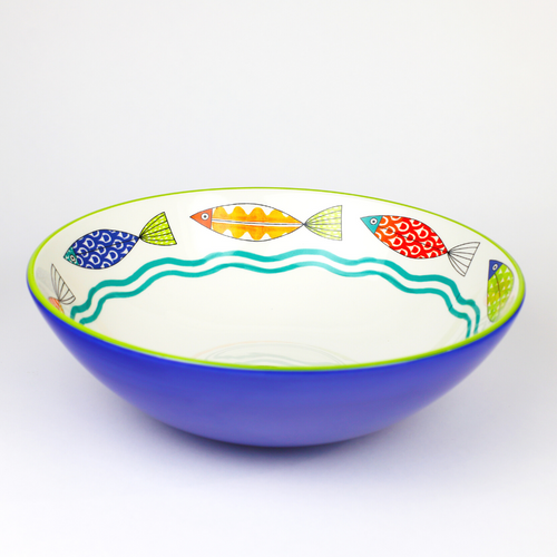 """Fresh Catch Collection 13"""" Serving Bowl"""