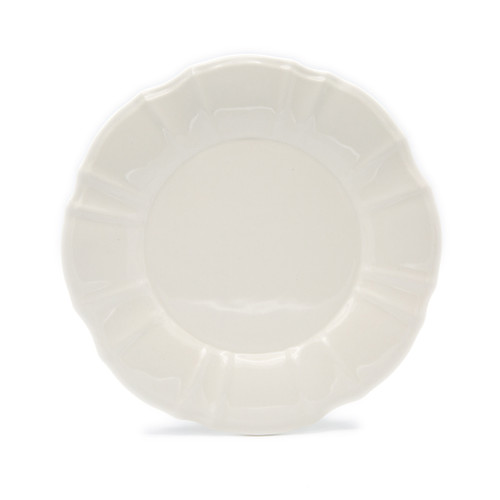 Chloe 4 Piece Salad Plate Set in White