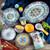 Zanzibar 16 Piece Stoneware Dinnerware Set, Service for 4 + Free Shipping