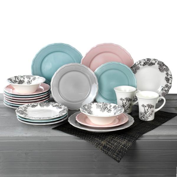 Savannah 16 Piece Dinnerware Set, Service for 4
