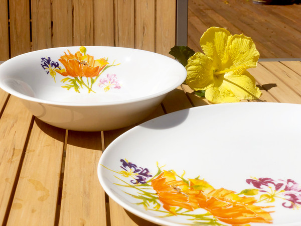 Tiger Lilly 2 Piece Serving Set