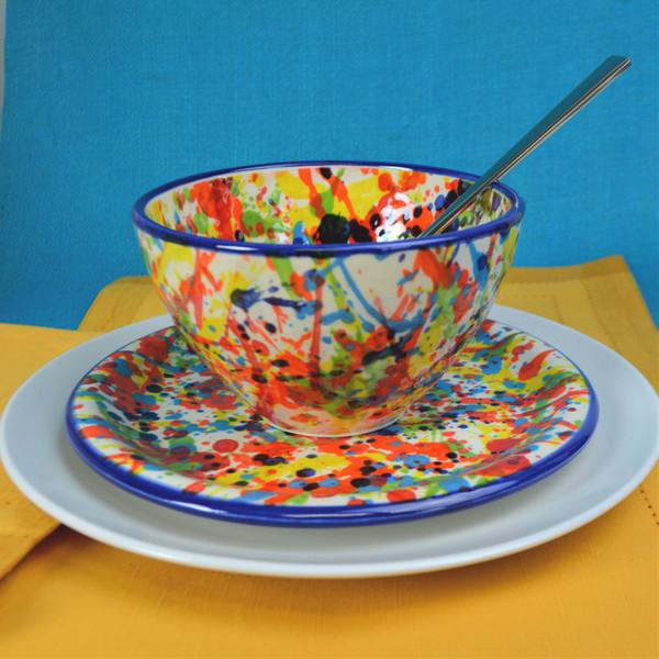 Pintura 3 Piece Assorted Stacking Bowl Set