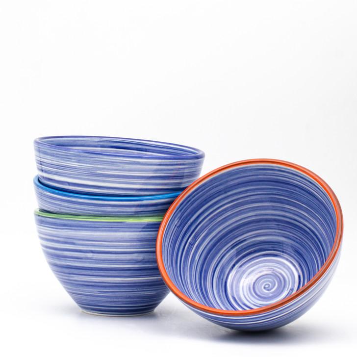 Raia 4 Piece Assorted Cereal Bowl Set
