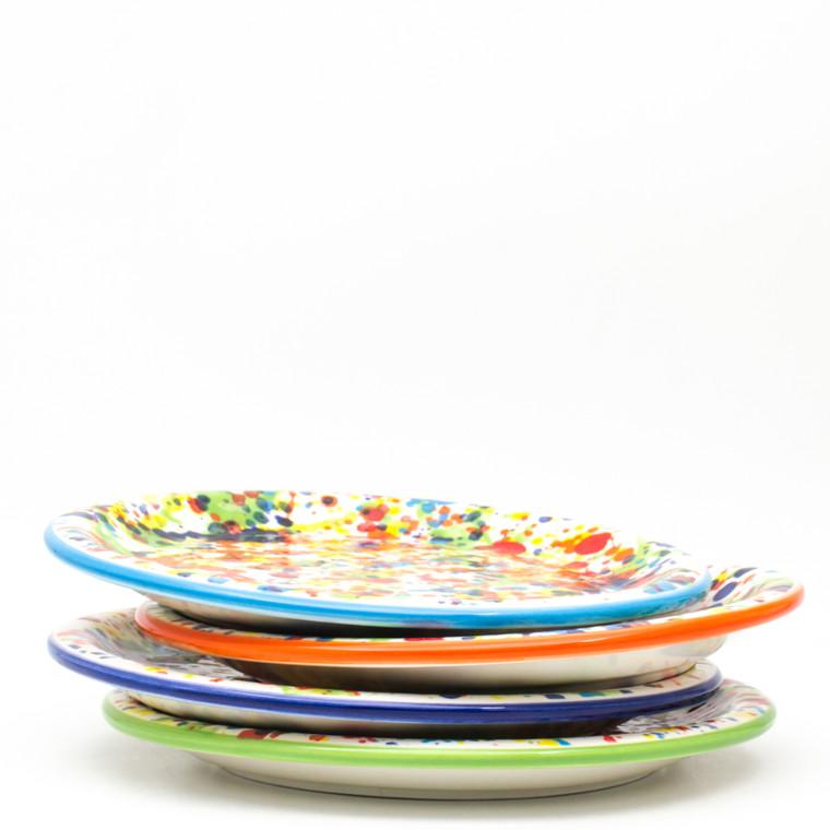 Pintura 4 Piece Assorted Salad Plate Set