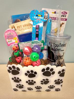 Faithful Friend Kitty Gift Basket