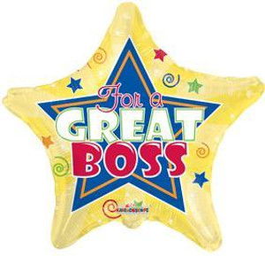 For A Great Boss Balloon