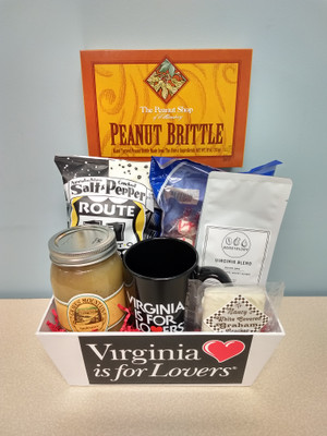 Virginia is for Lovers Small Gift Basket