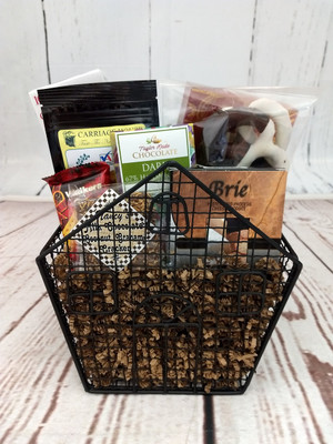 House Gift Basket Wire