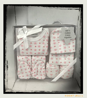 5 Piece Baby Girl gift set