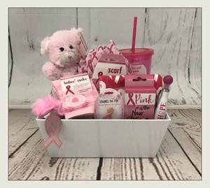 """Breast Cancer """"HOPE"""" Basket"""