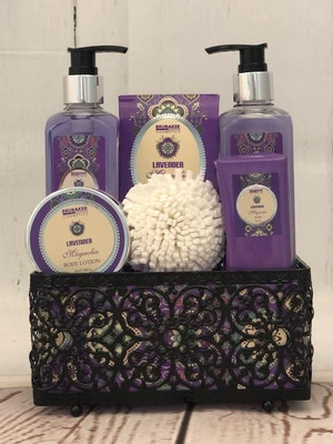 Lavender Magnolia Spa Set