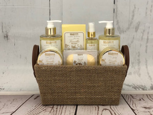 Vanilla & Rose Mint Spa Set