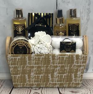 Vanilla Golden Paradise Spa Set