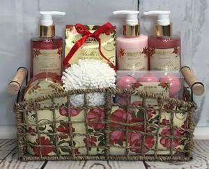 Vanilla & Peony Blossom Spa Set