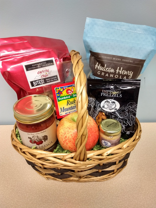 Here's To Your Health Gift Basket