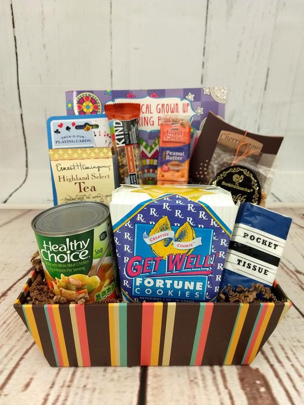 Feel Better Fast Large Gift Basket