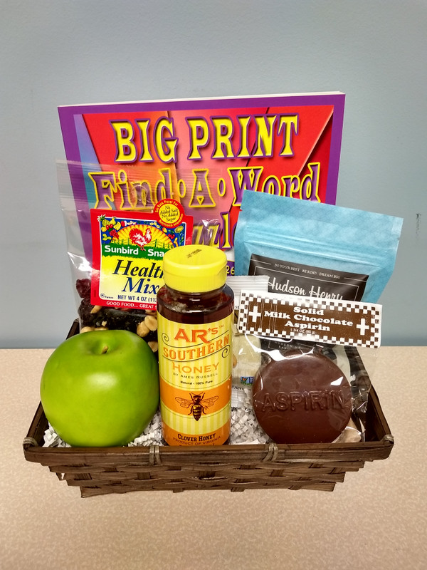 An Apple A Day Gift Basket