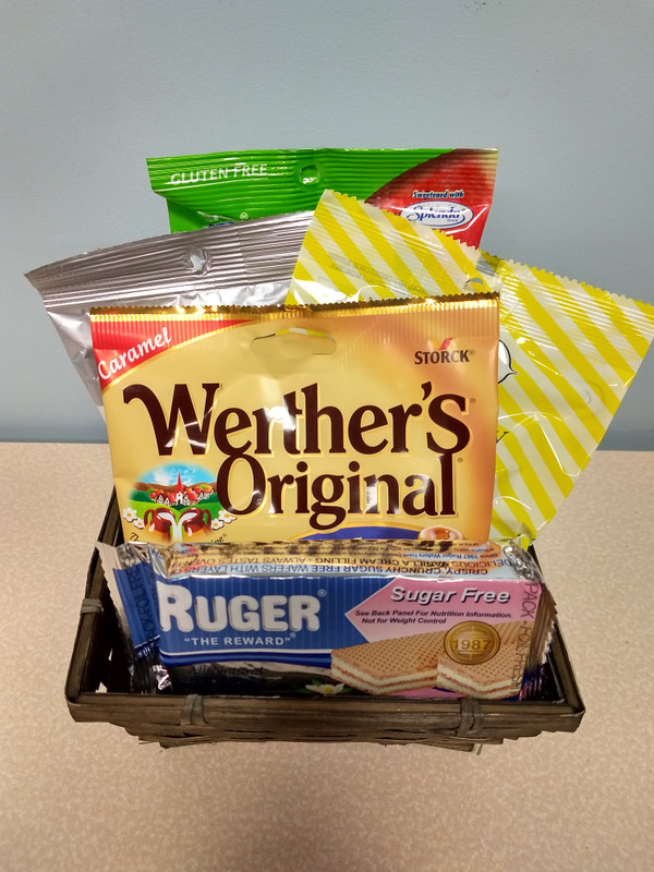 Diabetic Snacker Gift Basket