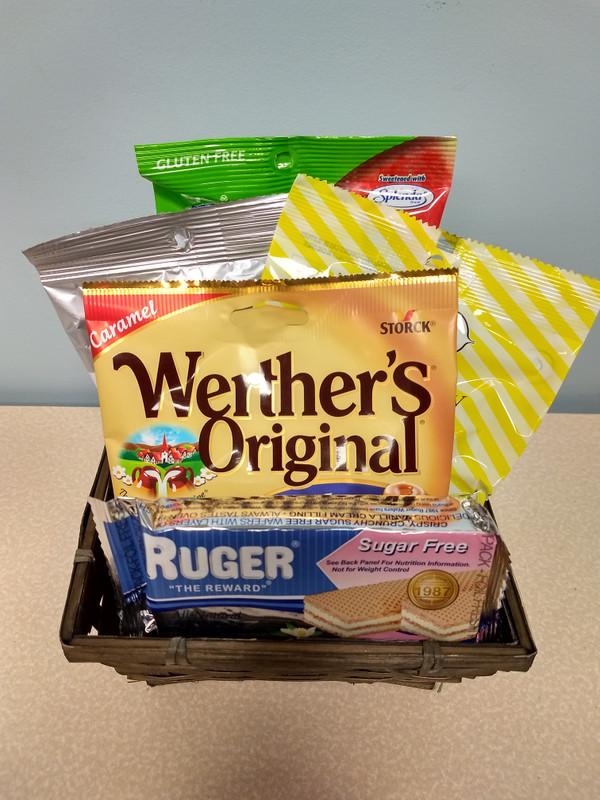 Diabetic Snacker Gift Basket