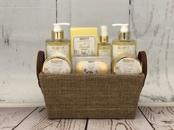 Vanilla & Rose Mint Spa Set