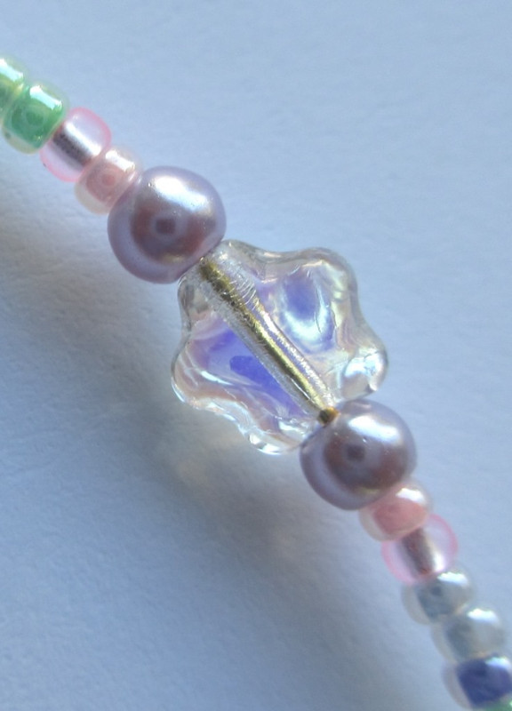 Sugar Plum Fairy Bracelet, star detail