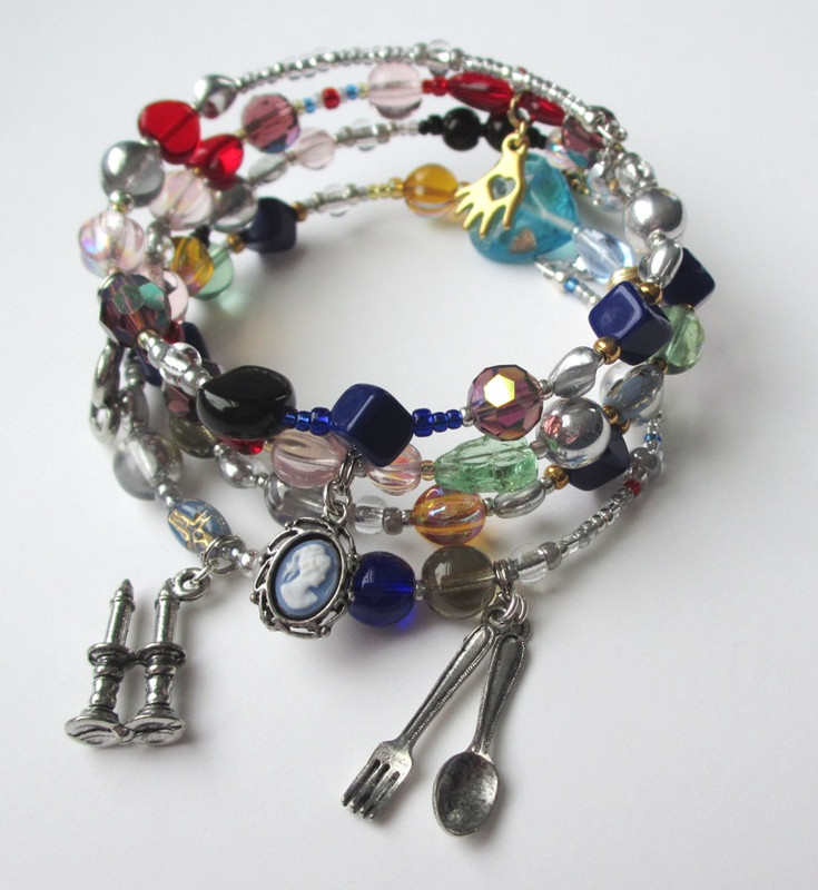 The Les Miserables Bracelet tells Victor Hugo's story through beads and charms.