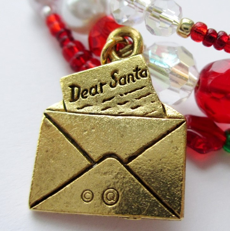 A detailed letter to Santa charm