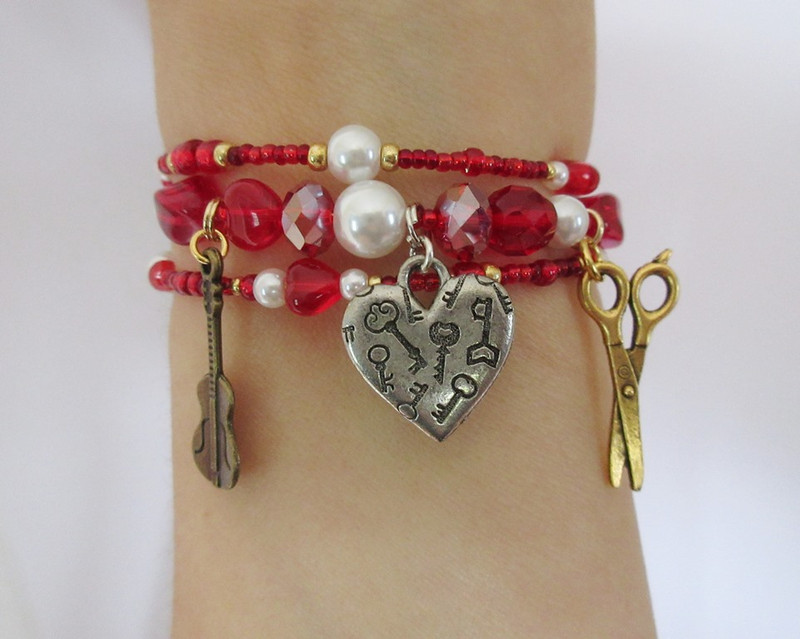 The Figaro Bracelet represents the iconic character from  the Barber of Seville and  The Marriage of Figaro