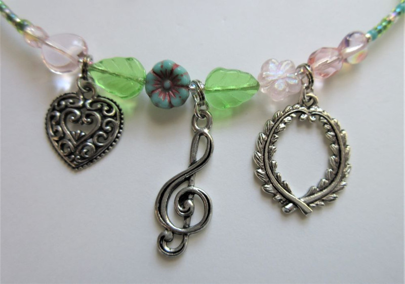 The Prize Song Bracelet, (charm detail)